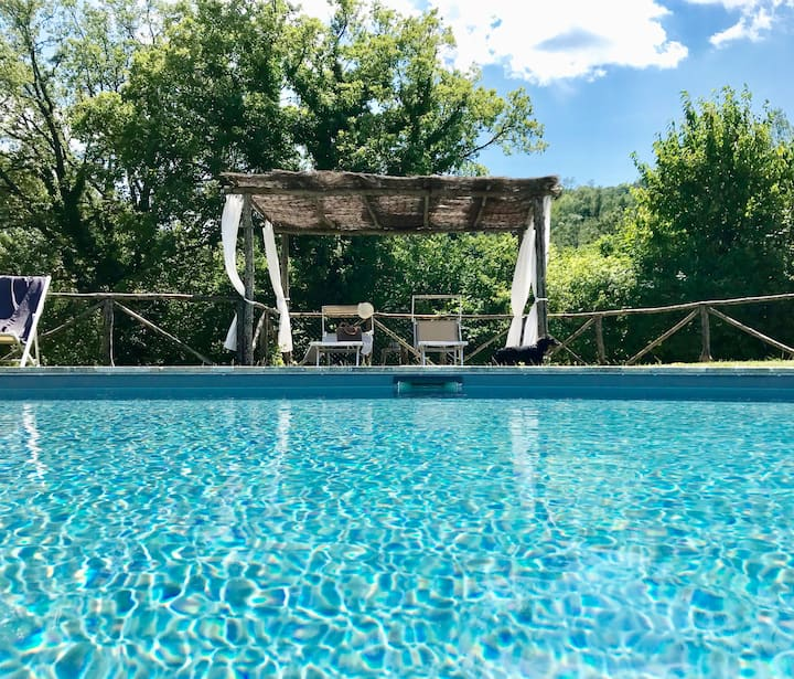 Swimming Pool Villa - Spoleto - I Ciliegi