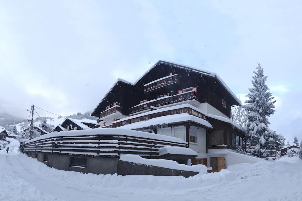 The chalet - the apt is at the top floor