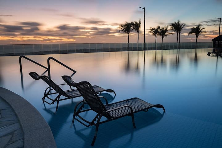Apto Manhattan Beach Riviera SPA&Resort Aquiraz/CE