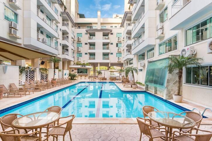 Aluguel Apartamento 1 quarto Summer Beach Piscina Bombas 586