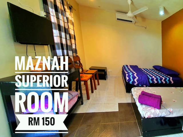 Maznah Guest House (Room A4) Aircon•Hot Shower•TV
