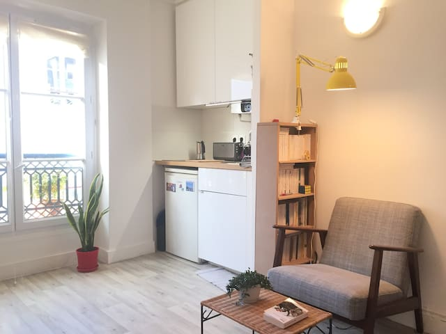 Charming Studio in the Very Heart of Paris