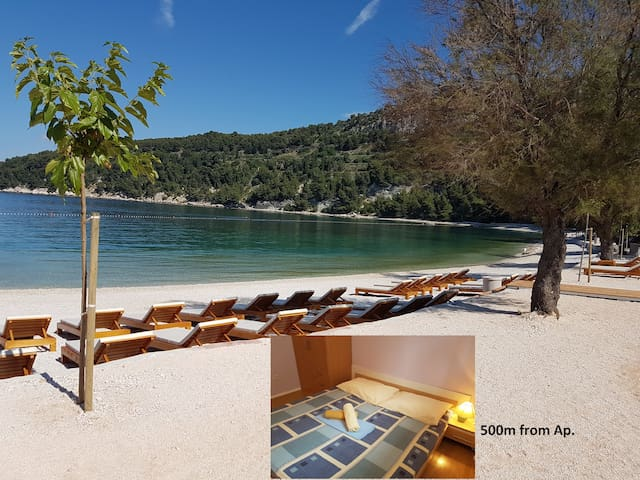☆Ap.5min.from BEACH☆10min.old town - Split - Apartment