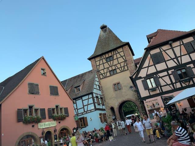 Maisonnette alsacienne, en plein cœur de Turckheim