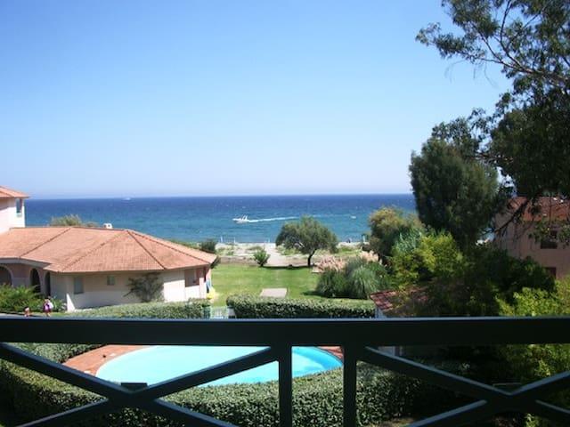 T2 sur la plage - San-Nicolao - Apartament