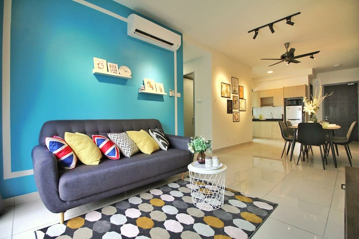 Unique Urban Cozy Home@ KL (4~8pax) 12mins to KLCC