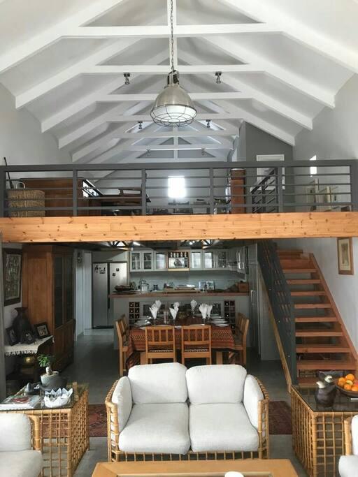 Dining room, Kitchen & Loft