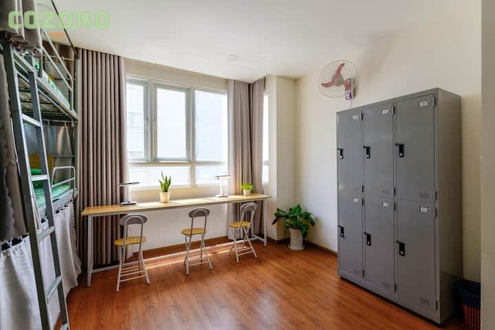 KTX nữ Cozoro Dorm 2 cao cấp tiện nghi 40k 1 ngày