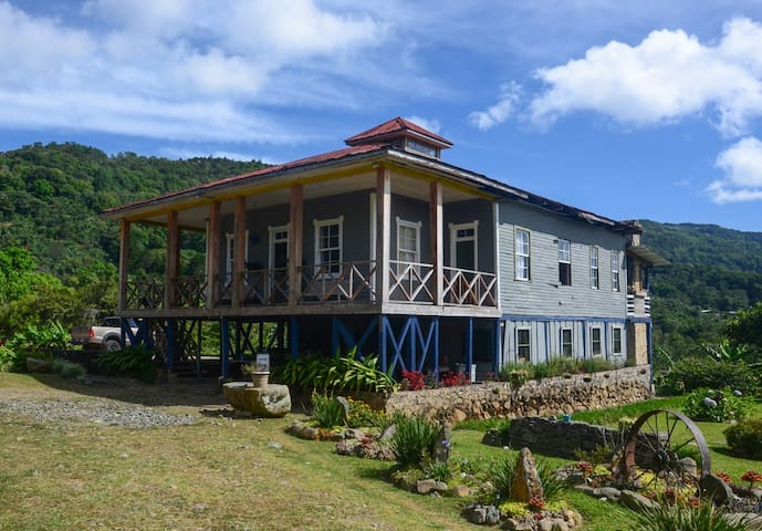 Double room in historic coffee plantation house