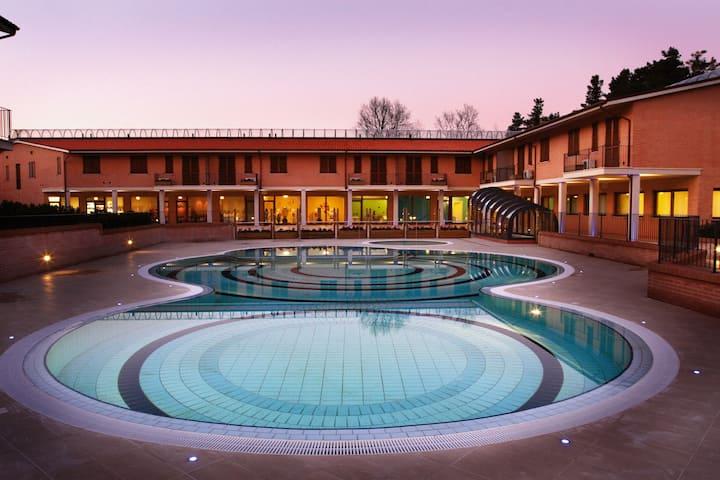 "2 bedrooms apartment ""Terme di San Giacomo"""