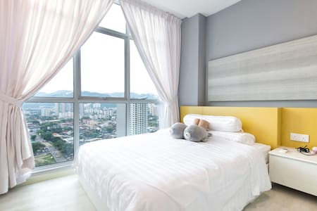★ Couples Getaway II ★ Cozy Suite Sleeps 1~4 |海景套房