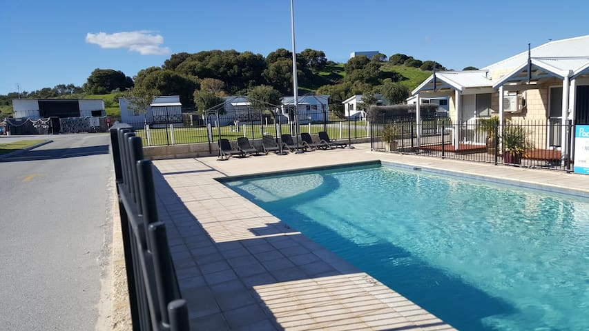 Holiday Park communal swimming pool