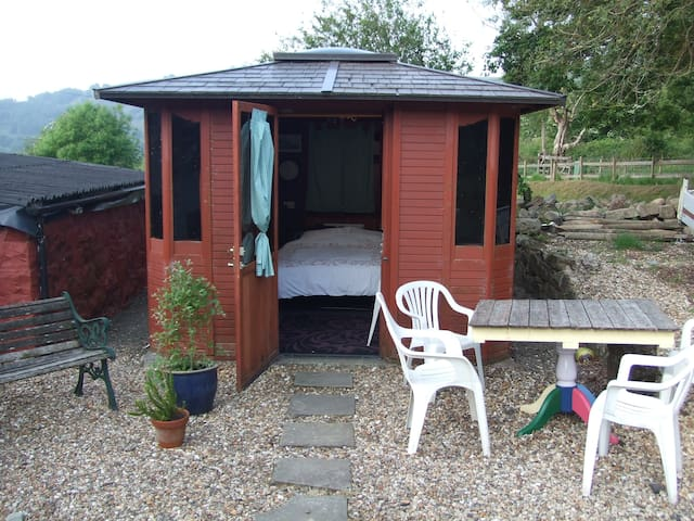 Luxury Cabin - really  just a shed in the garden