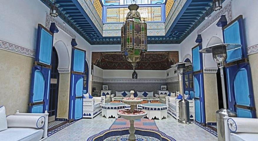 Sublime Riad au coeur de la medina de marrakech