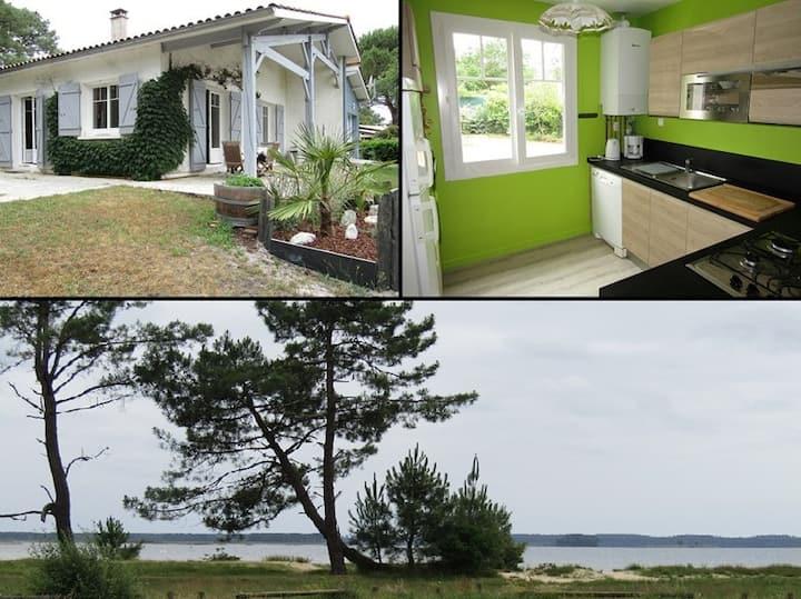 Maison indépendante 6 personnes, lac de Lacanau