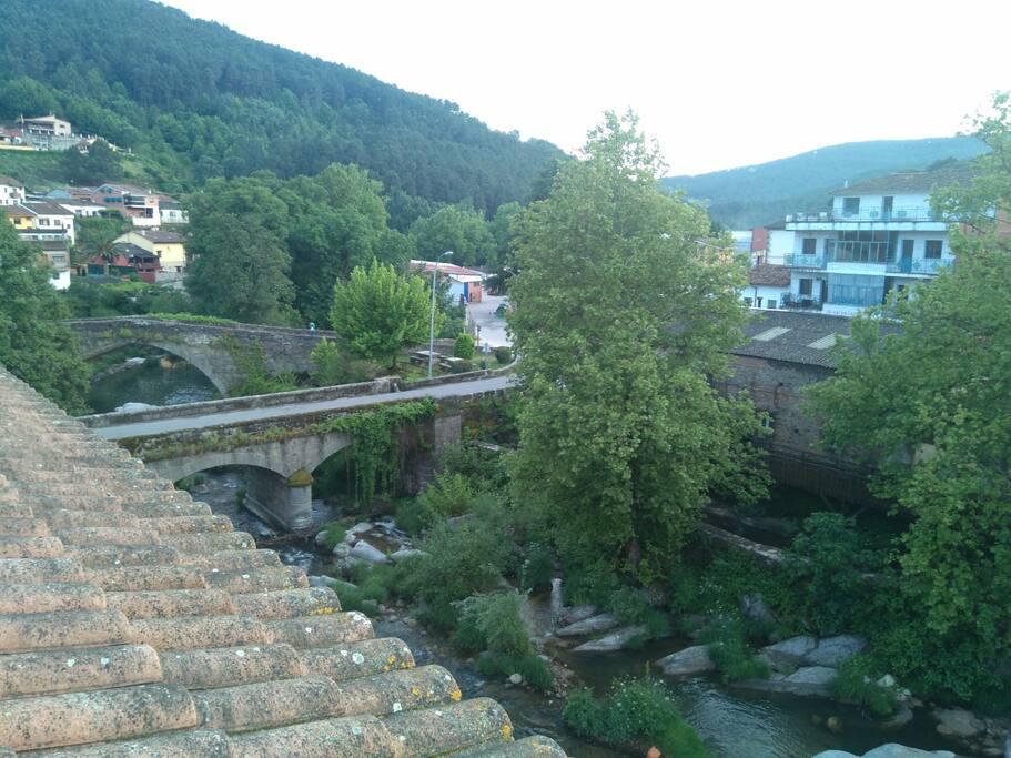 Vista desde la otra terraza de nuestro alojamiento.
