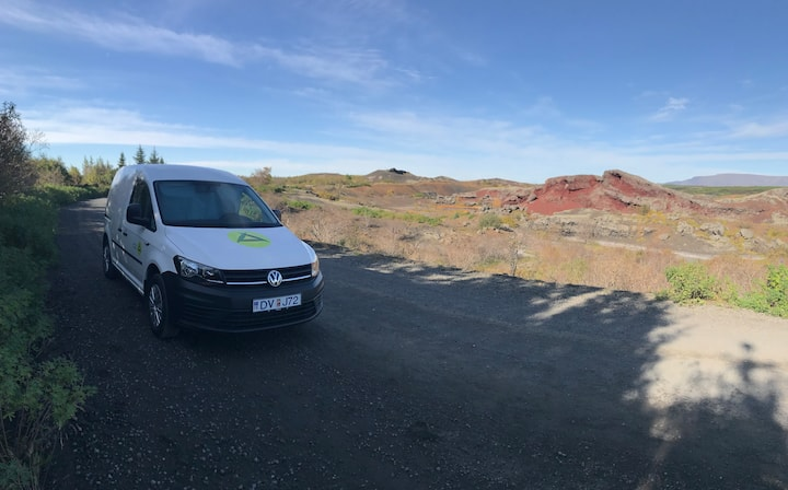 Probably the best stationary camper in Iceland KIX