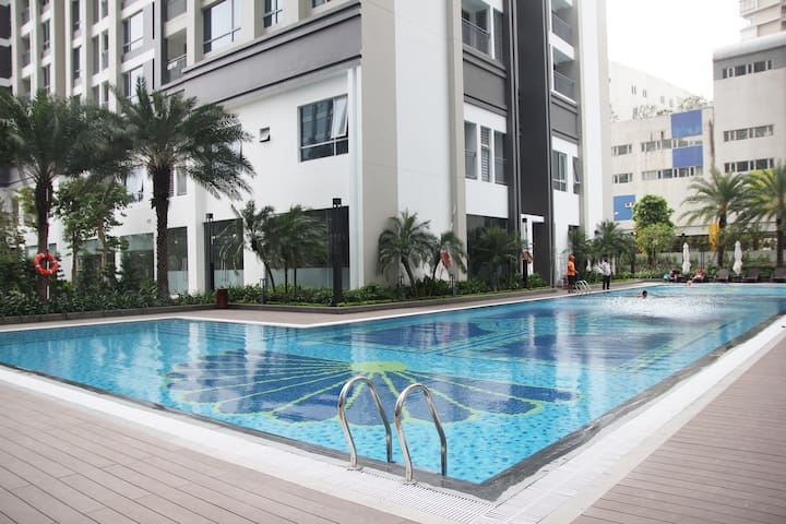 Brand-new 2BR apt in a modern complex - Ho Chi Minh City - Appartement