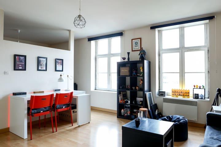 Studio Lumineux dans le Vieux-Lille - Lille - Apartamento