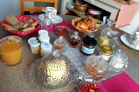 Chambre calme-SDB privative & petit déjeuner