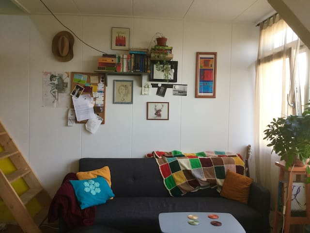 Compact studio with a terrace - Leiden - Appartement