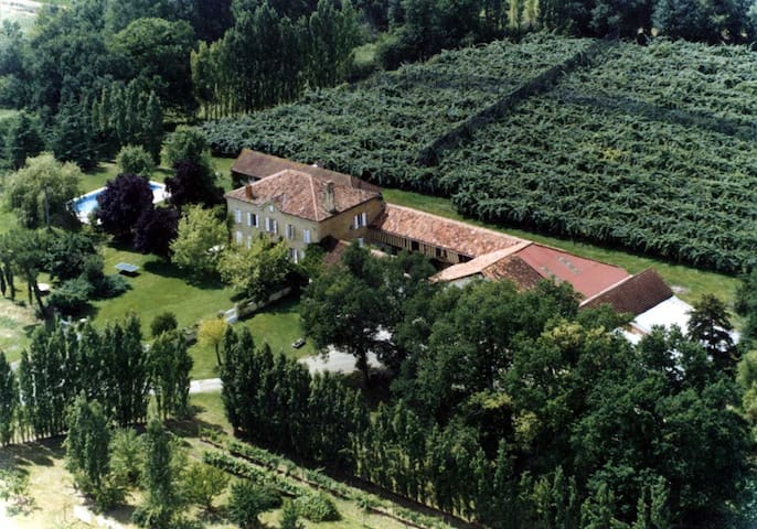 Gîte de charme au cœur du Bas-Armagnac - Laujuzan - Natur lodge