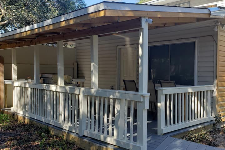 The Guest Room & Back Deck