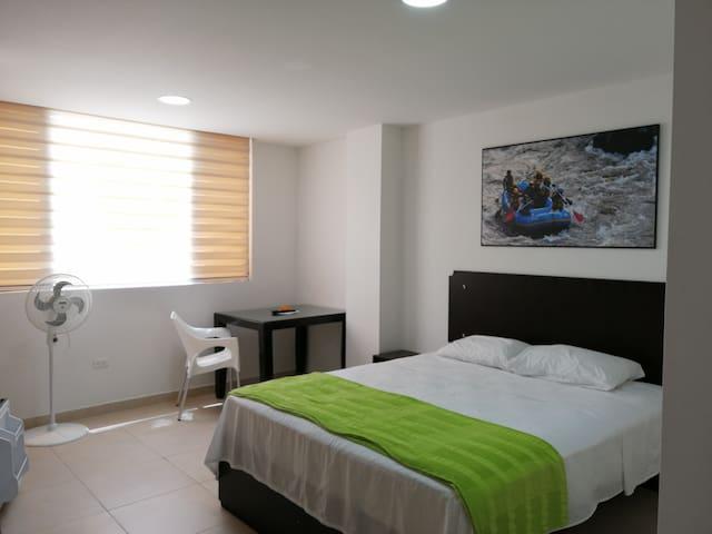 Habitación Independiente Loft Centro 401