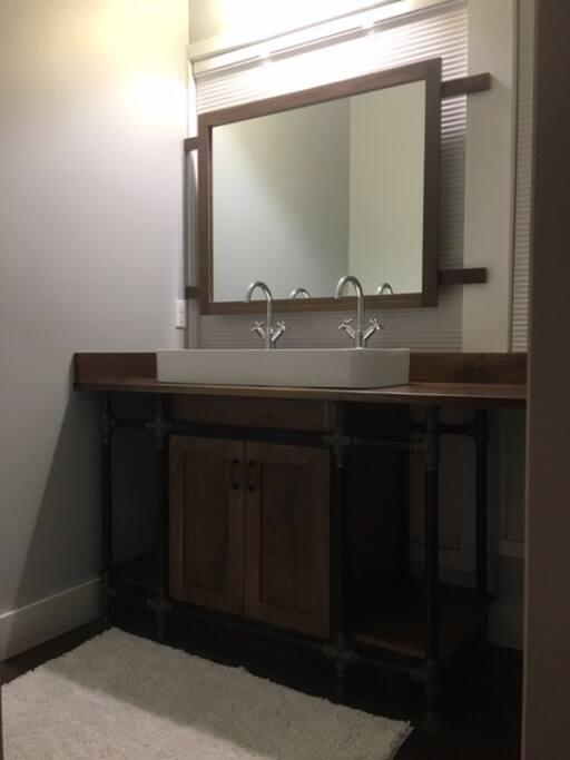 Master Bathroom Vanity with Double Sink