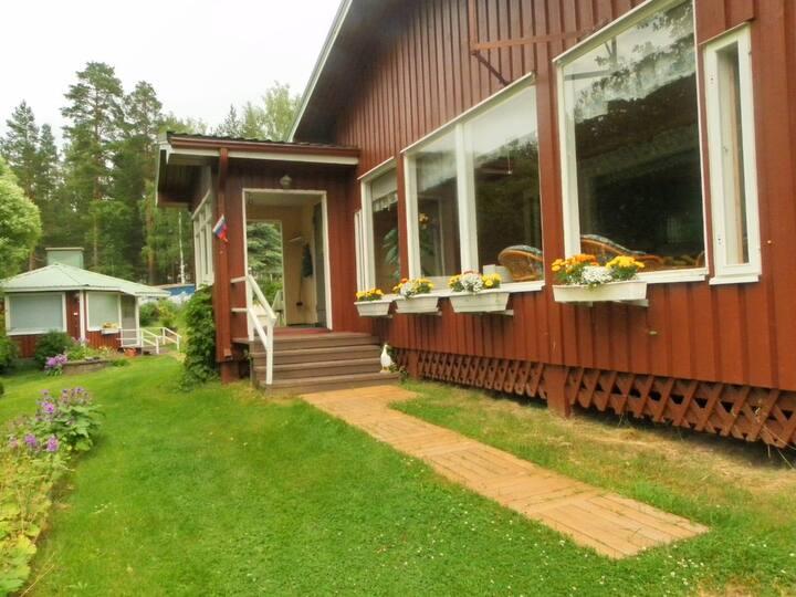 Аренда коттеджа в Финляндии на берегу озера