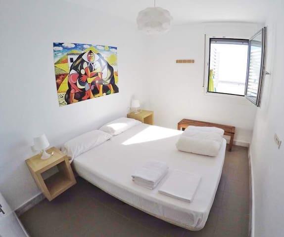 Apartamento con vistas al mar tranquilo y con wifi - Las Negras - Apartment
