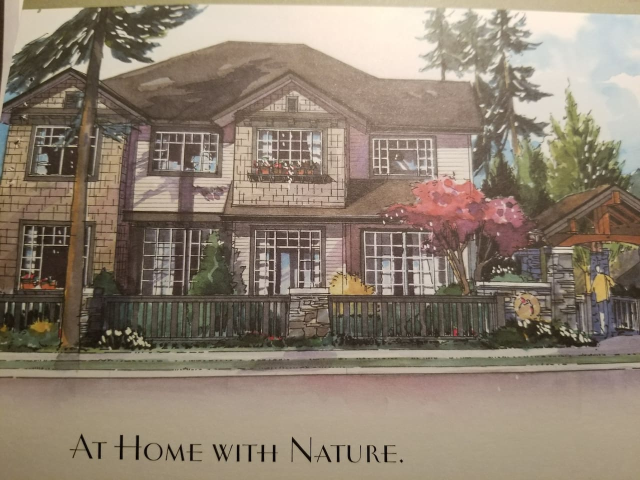 Architectural Schematics of SERENITY @ Nature's Landing, Mill-Creek, Washington