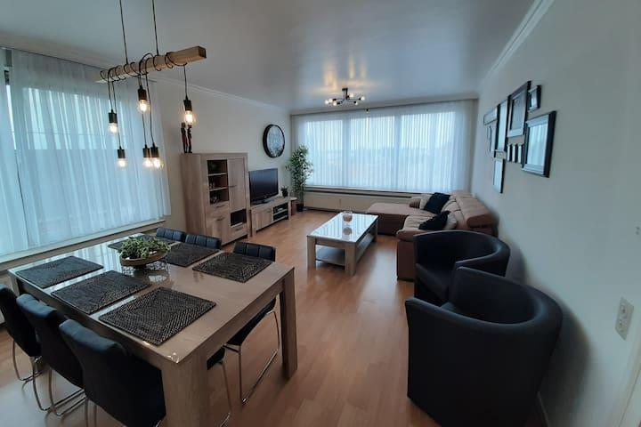 Gezellig en licht en ruim appartement