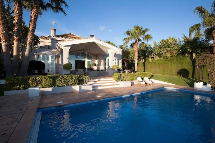 Luxury, private, secluded 5 bedroom Marbella Villa