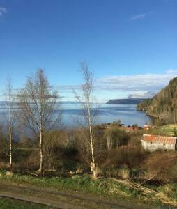 Tronvika - nydelig sted ved Trondheimsfjorden - Leksvik