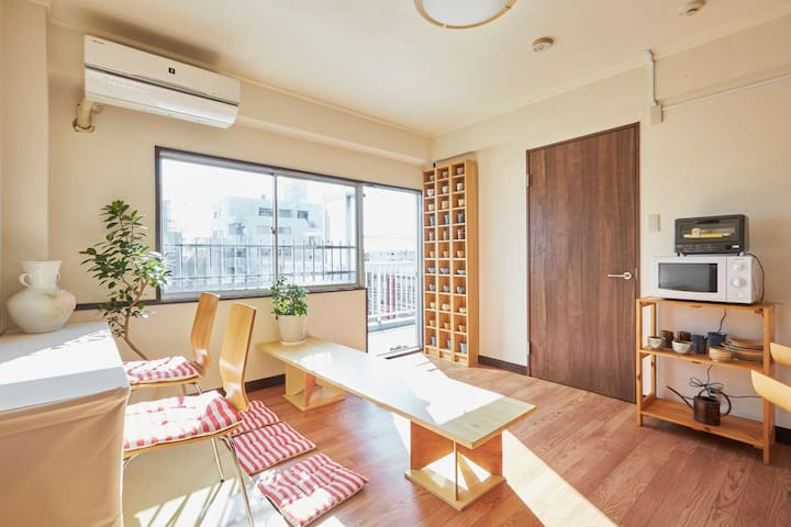#C Enjoy Your Stay! with room mates - 足立区 - Apartamento