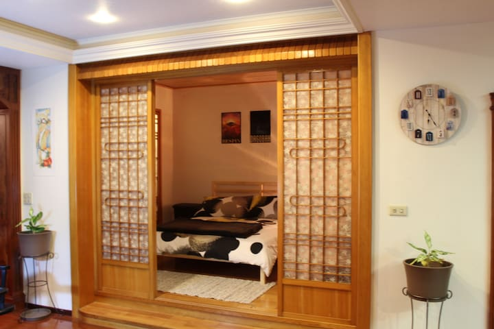 Expat House, 5-Min Walk from Taipei Bridge Station - Sanchong District - Osakehuoneisto