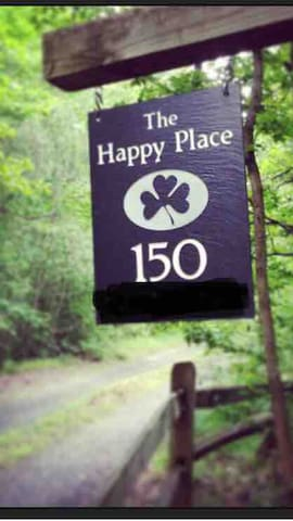 The Happy Place sign