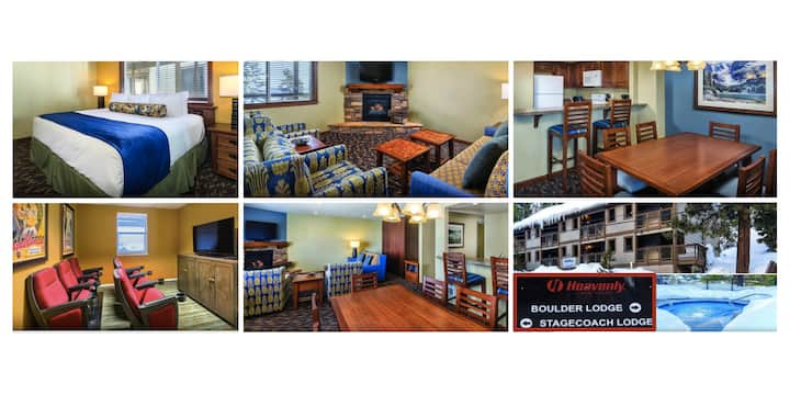 Heavenly Condo~NO CLEANING FEE~Slps 4~NV SKI LIFTS