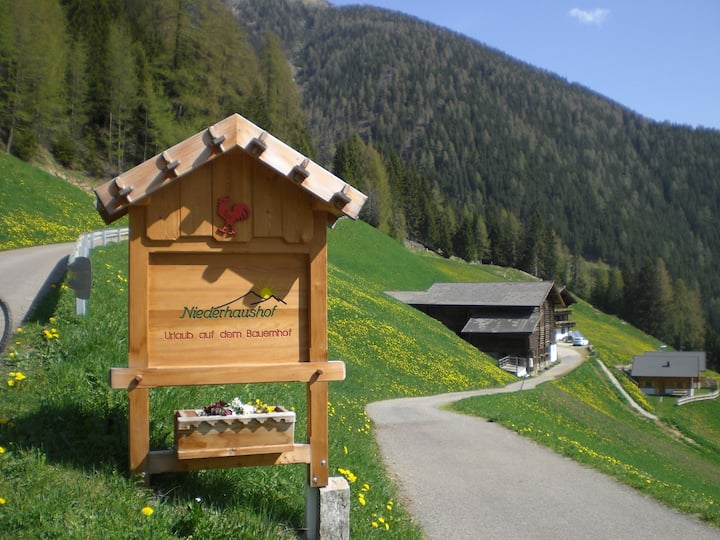 Urlaub auf dem Bauernhof Niederhaushof Hochjoch