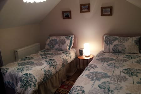 Twin/double in great central location nr Glasgow - Lennoxtown