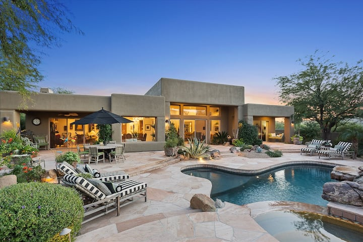 NEW Luxurious Home offers Serenity at The Boulders