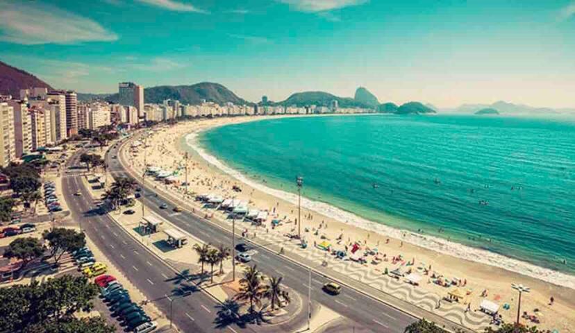 Lindo Imóvel! melhor local de Copacabana! Posto 4!