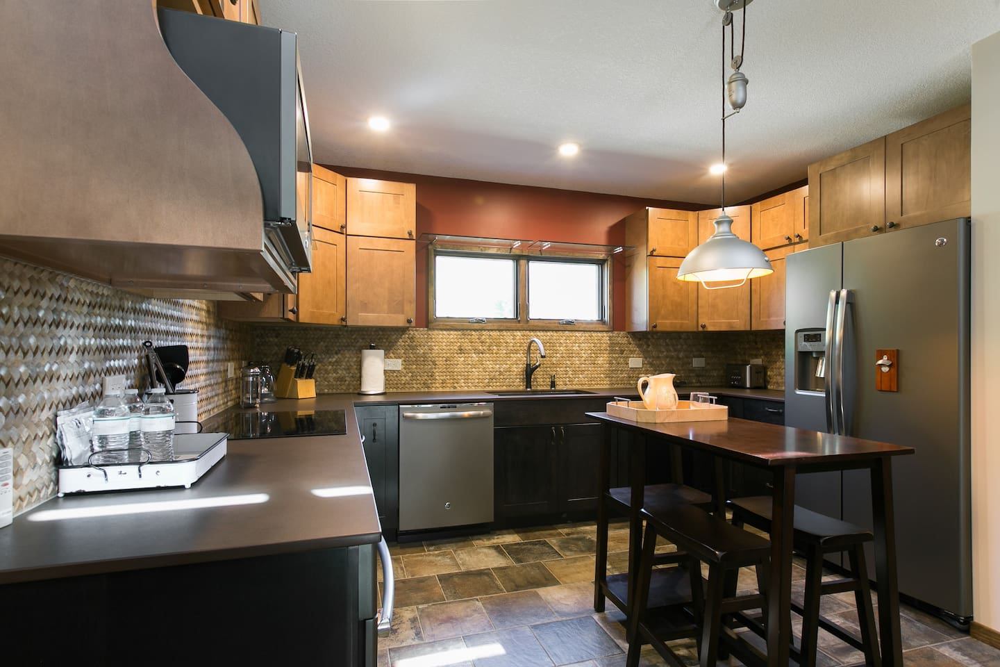 """As a Celebrity Chef I have to say this kitchen design is outstanding for cooking for your family & friends . You are right there with them. """"Quality time is what's all about""""  Layout is unbeatable and high end equipment throughout you can not beat!!"""