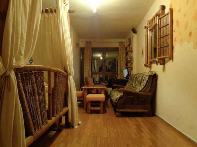 Cute studio with park view - Bukarest - Wohnung