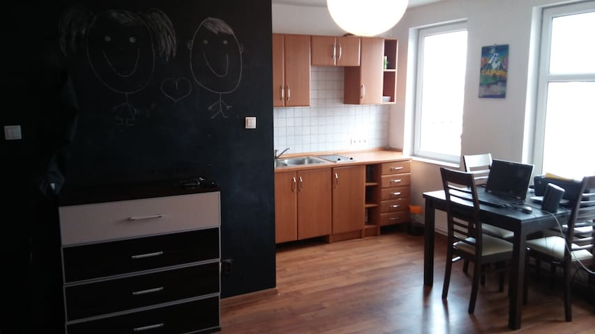 Cozy Apartment in the City Center of Bydgoszcz :) - Bydgoszcz - Lägenhet