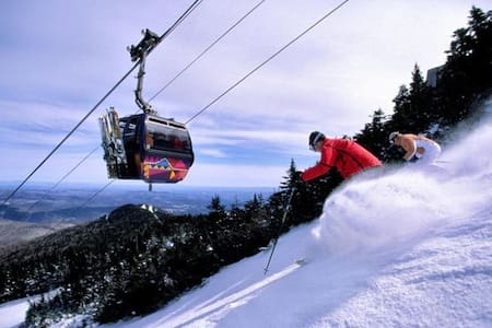 7 mi. From Killington mtn (pets ok!) - 基林顿(Killington) - 独立屋