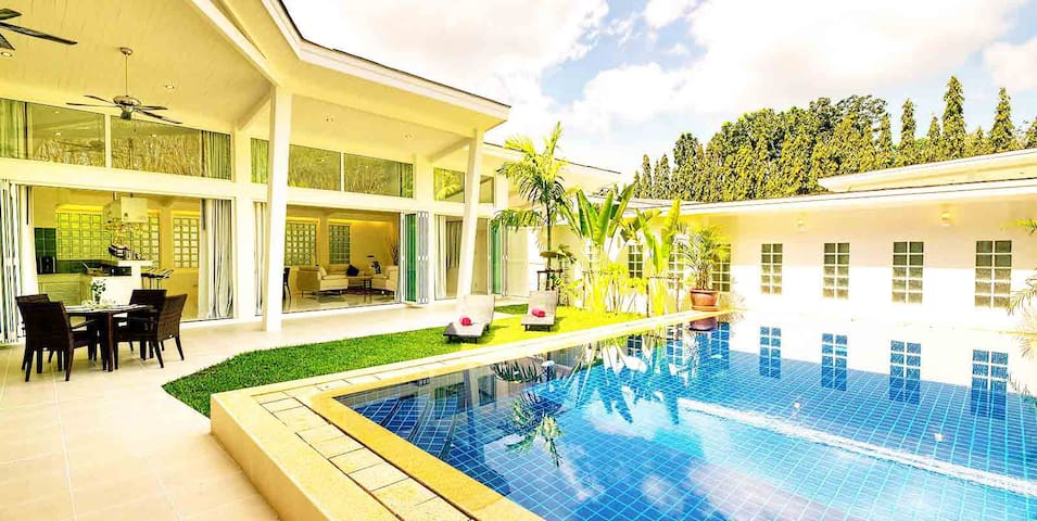 Katty Villa 2 Architect villa pool and beach - Phuket - Villa