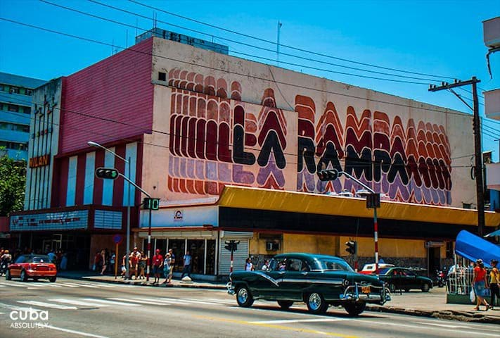"Memories in ""La Rampa"", Downtown El Vedado"