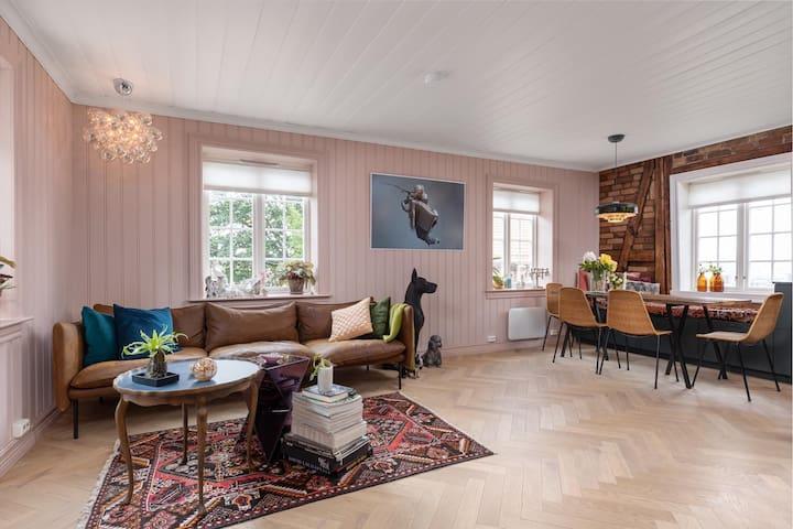 Cozy modern loft, next Oslo`s most beautiful view